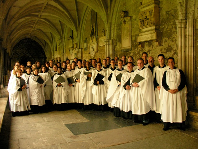 Choir of St. James at Westminster Abbey 2006